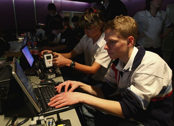 Students create their software systems