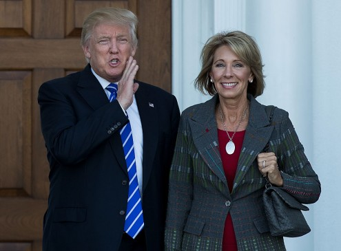 Betsy DeVos Admits Surprise Over Education Secretary Appointment