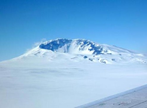 Active Volcano Discovered Beneath Antarctic Ice