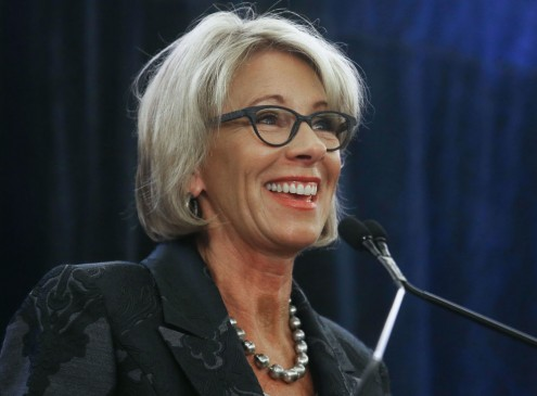 Betsy DeVos Believes Community Colleges Play Important Role In Workforce Development