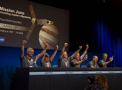 NASA's Juno Engine Malfunction Causes Spacecraft To Remain In Orbit