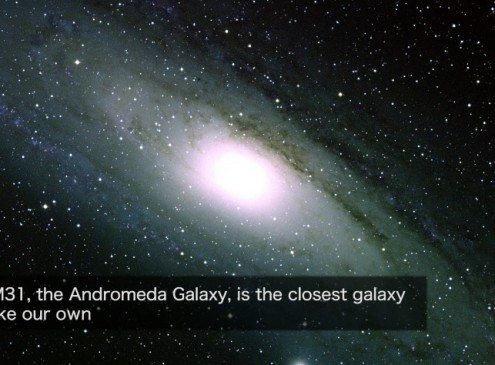 NASA Discovers Dark Matter In Andromeda Galaxy