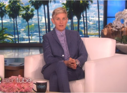 Ellen DeGeneres,Wal-Mart Team Up To Send 41 Underserved Kids To College