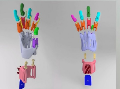 University of Cincinnati Students Build Prosthetics Using 3-D Printer