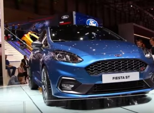 Newly Launched 2018 Ford Fiesta ST Introduces An All-New Powerful EcoBoost Engine & New Braking System