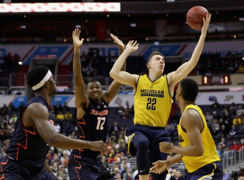 University Of Michigan Men's Basketball Team Safe After Plane Skids Off Runway