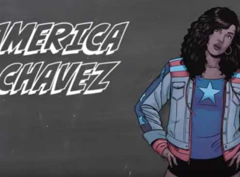 Marvel Superhero, America Chavez is Heading to College