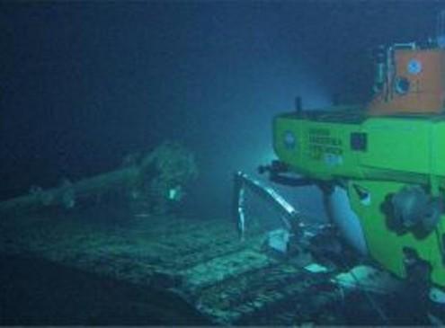 WWII Japanese Submarine Discovered on the Sea Floor off Hawaii