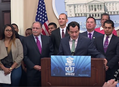 Degrees Not Debt: California's Plan To Eliminate Student Loan Debt