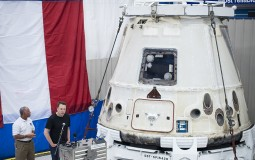 SpaceX Dragon Capsule Returns To Earth