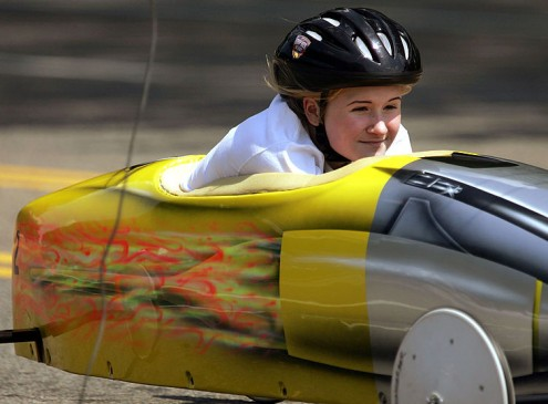 University of Akron's College of Engineering Shows Off Skills At Soap Box Derby [VIDEO]