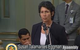 Assembly member Susan Talamantes Eggman