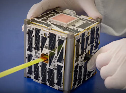 NASA To Launch A 'Constellation' Of Student-Built CubeSat's To Space