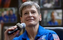 Astronaut Peggy Whitson of NASA
