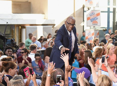 Rokerthon 3: Al Roker Helps Loyola University Break Crab-walking World Record [VIDEO]