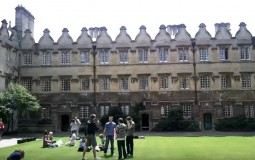 Jesus College in Oxford University
