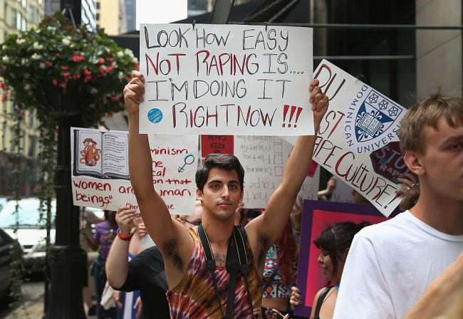 Fight Against Rape
