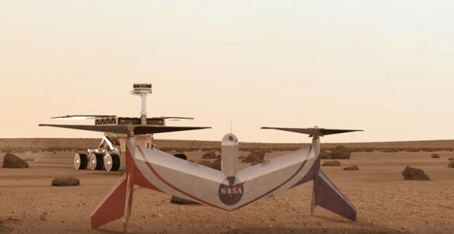 NASA Langley Engineers Propose Mars Flyer Concept