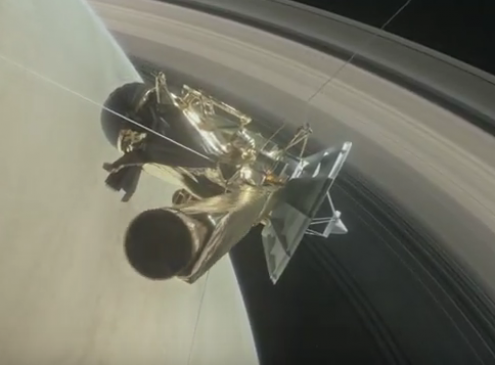 NASA Prepares For Cassini's Final Mission, Swan Song Starts April 22 [Video]
