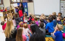 Children attend school early