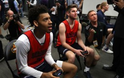 Students participate in video game competition