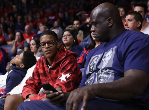 Shaquille O'Neal's Son, Shareef, Attends  University of Arizona [Video]
