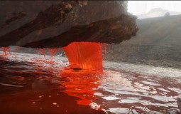 Researchers Solve The Biggest Mystery Of Antarctica's Blood Falls