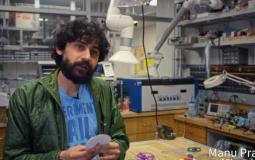 Manu Prakhash, a bioengineer at Stanford University