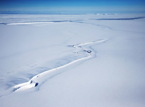 Huge Crack's New Branch On Antarctic Ice Shelf Could Create Largest Iceberg Ever [VIDEO]