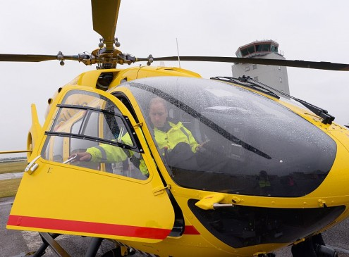 Flying A Doctor Via Ambulance Helicopter To Stroke Patients Is More Effective [VIDEO]