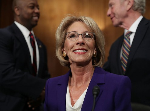 Petition Filed To Stop Betsy DeVos From Delivering Commencement Speech At Florida College [VIDEO]