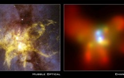 Chandra Uncovers Two Black Holes In Same Galaxy