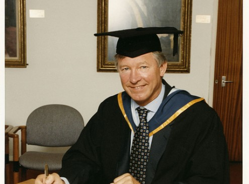 Sir Alex Ferguson Begins New Chapter of His Life at Harvard Business School