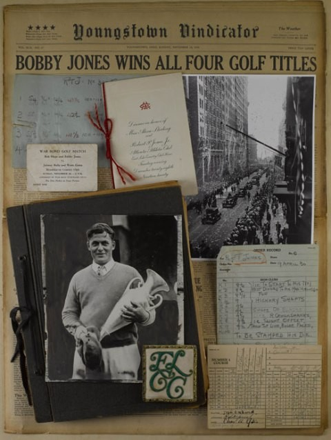 Historian of Golf Legend Bobby Jones Donates Research Collection to Emory Library.